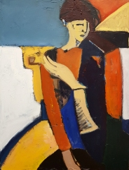 Boy with a Pipe SOLD