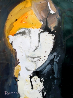 Woman in White SOLD